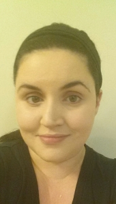 Me just with the foundation on. No concealer or anything else. It cover really well- but you can see how washed out I am.