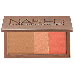 I want this so badly! Urban Decay Naked Flushed. The combination of three colors- all that are so pretty. And for $32 not too expensive.