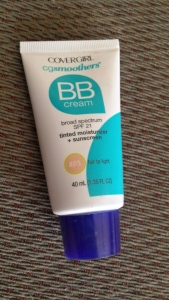 My favorite BB cream- Covergirl! And it is under seven dollars! So worth the buy. Also it is a much larger container than the other ones.